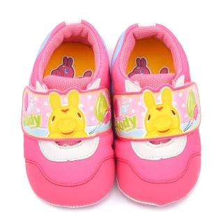 【童鞋城堡】RODY跳跳馬 小童 可愛包覆款寶寶鞋(RD7405-粉)