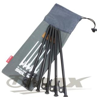 【OMAX】露營營釘-30cm-8入+專用30cm收納袋