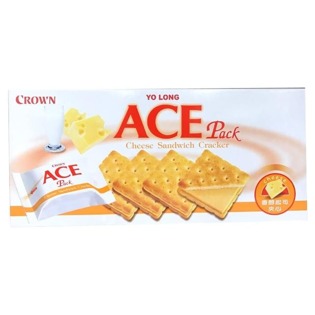 【CROWN】ACE優龍起司夾心餅乾(125g)