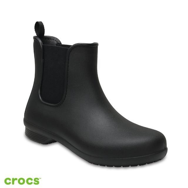 【CROCS】女鞋 飛揚短靴(204630-060)