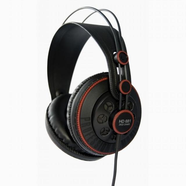 【Superlux】半開放式專業監聽耳機(HD681系列)