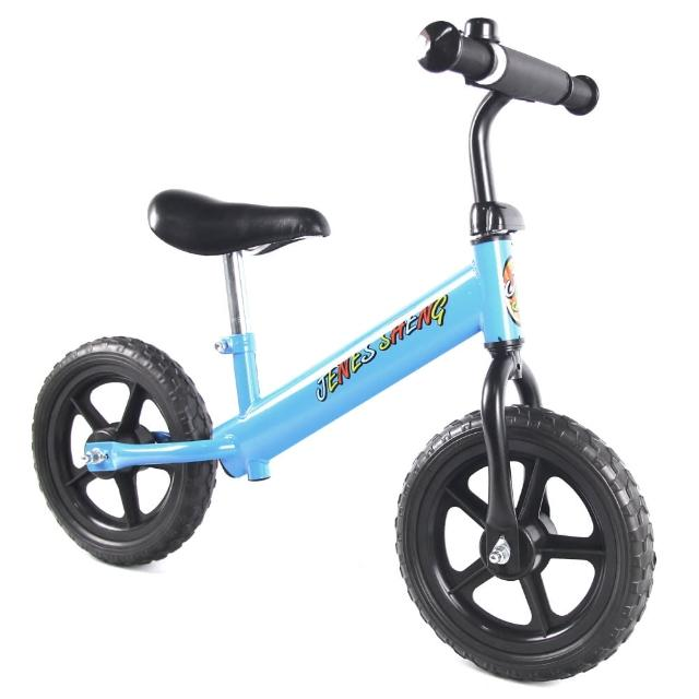 【JS】12吋兒童平衡滑步車(天空藍)