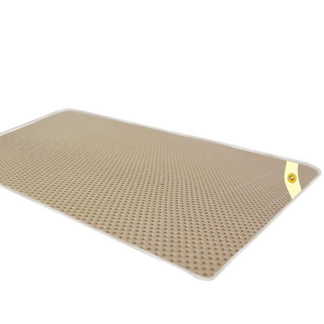 【蒙娜麗莎】台灣製4D超透氣專利止滑可水洗速乾床墊(3尺單人)