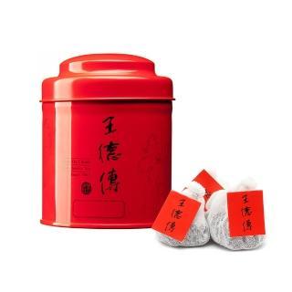 【王德傳】1999普洱老茶手工棉布袋茶18入含罐