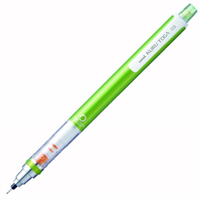 【UNI】三菱M5-450自動鉛筆0.5金屬綠