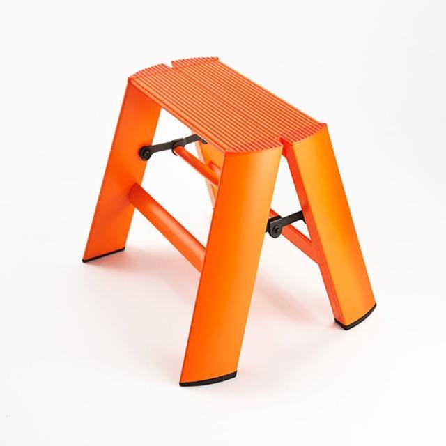 【長谷川Hasegawa設計好梯Lucano設計傢俱梯】1階24cm 橘色(ML-1OR)