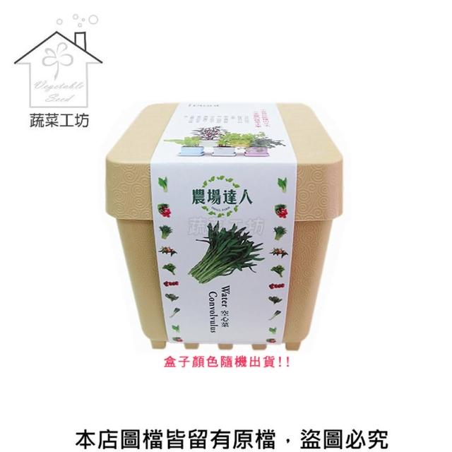 【蔬菜工坊004-D06】iPlant小農場系列-空心菜