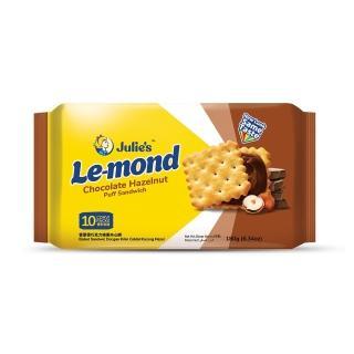 【Julies】雷蒙德巧克力榛果夾心餅(170g)