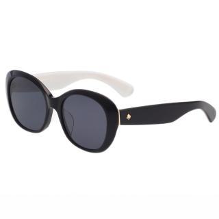 【Kate Spade】-復古造型 太陽眼鏡(黑色)