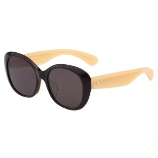 【Kate Spade】-復古造型 太陽眼鏡(琥珀色)