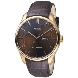 【MIDO美度錶】Belluna Gent系列時尚紳士腕錶(M0246303629100)