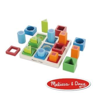 【美國瑪莉莎 Melissa & Doug】益智遊戲 - 幾何形狀遊戲組