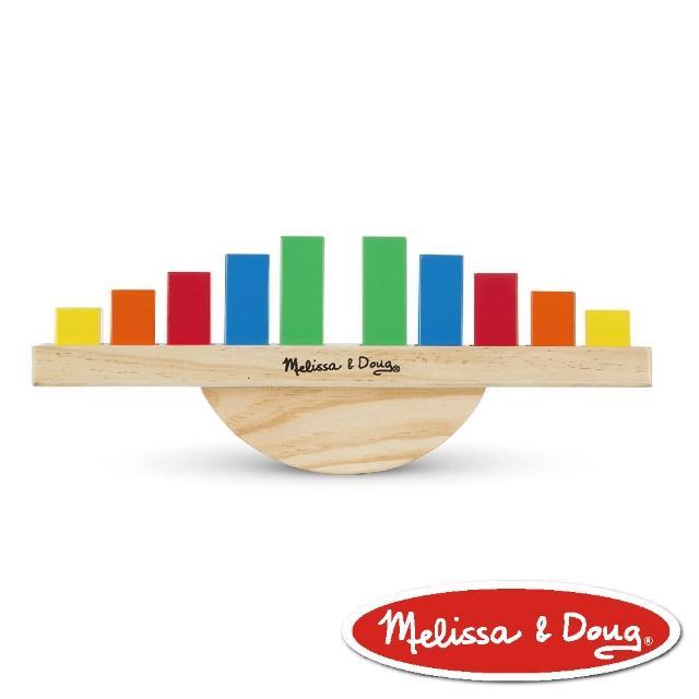 【美國瑪莉莎 Melissa & Doug】益智遊戲 - 彩虹平衡翹翹板