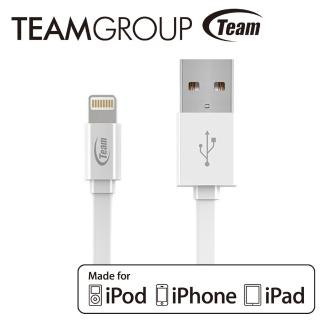【TEAM十銓科技】Apple原廠認證充電/傳輸線 白色(TWC08)