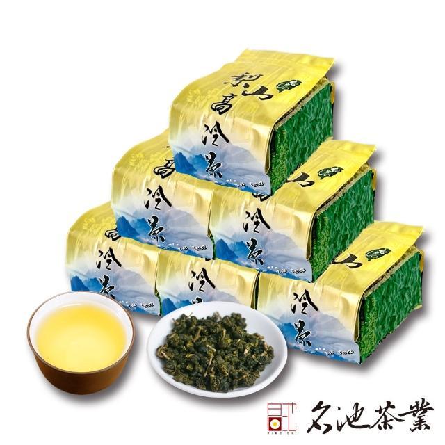 【名池茶業】茶師嚴選-極品梨山仁愛鄉高冷烏龍茶6件組(150gx6)