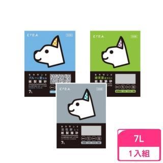 【日本KIRA】大和紙砂《原味/綠茶葉/活性碳》7L