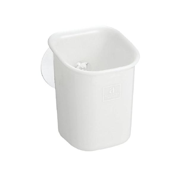 【ASVEL】吸盤收納架S-0.5KG(浴室收納 磁磚牆壁 吸牆壁式)