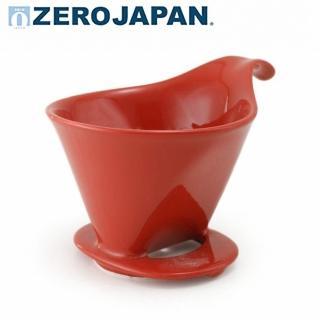 【ZERO JAPAN】典藏陶瓷咖啡漏斗-大(蕃茄紅)