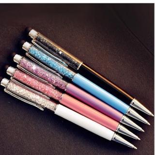 【水晶手寫筆 觸控筆 兩用筆】超值5入組