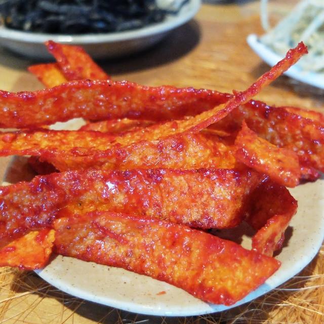 【惠香】鱈魚香片-蜜沙茶80g(台灣古早味零嘴懷舊零食蜜汁魚乾)
