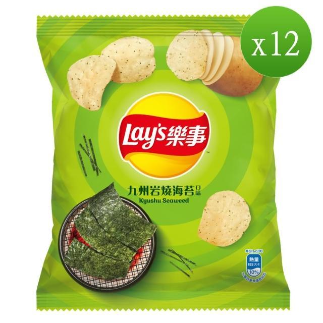 【樂事】九州岩燒海苔味洋芋片43g/包