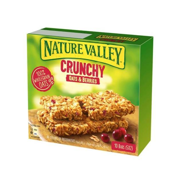 【NATURE VALLEY】天然谷 纖穀派 蔓越莓燕麥(42gx5條/盒)