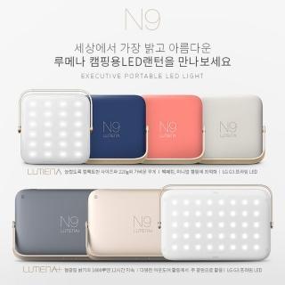 【N9】N9 LUMENA三色溫小行動電源照明燈-極地迷彩(camo-gray)