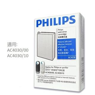 【AC4030專用】PHILIPS 飛利浦空氣清淨機專用抗菌匣(AC4178)