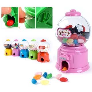 【kiret】可愛迷你糖果扭蛋機玩具-顏色隨機(復古DIY迷你扭糖果機 存錢筒 聖誕禮物 生日禮)