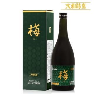 【日本原裝大和酵素】梅精酵素鹼回健康嘗鮮組(720ml*1瓶附原廠提袋)