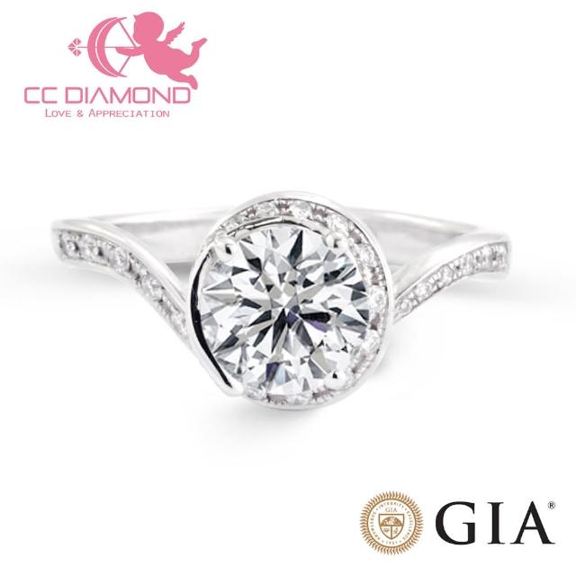 【CC Diamond】邱比特系列Ⅰ GIA一克拉鑽戒(設計款)
