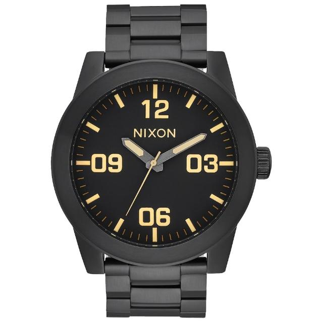 【NIXON】CORPORAL SS 曠野風潮時尚運動腕錶(A3461256)