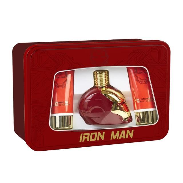 【MARVEL】IRON MAN 鋼鐵人 動力裝甲男性香水禮盒