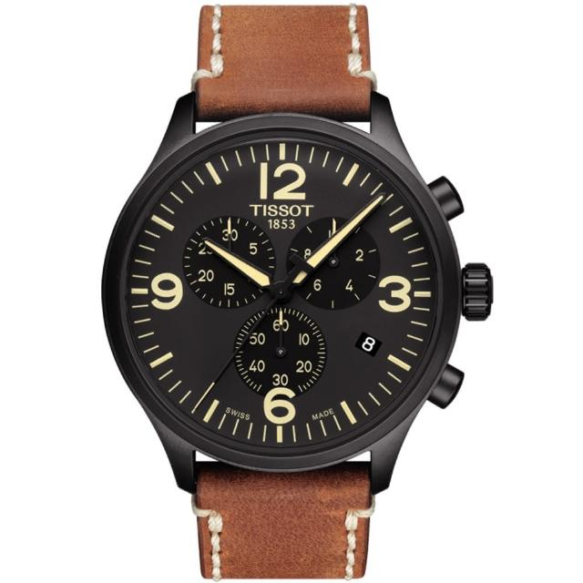 【TISSOT】T-Sport系列CHRONO XL城市計時腕錶(T1166173605700)