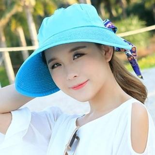 【米蘭精品】防曬遮陽帽(大簷純色百搭戶外出遊沙灘女帽子6色73eq68)