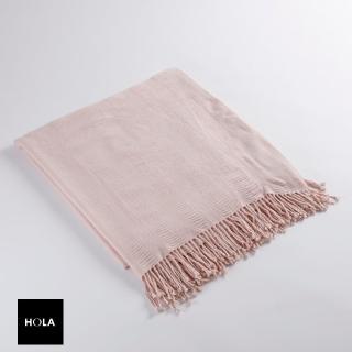 【HOLA】HOLA 蒙蒂壓紋時尚毯