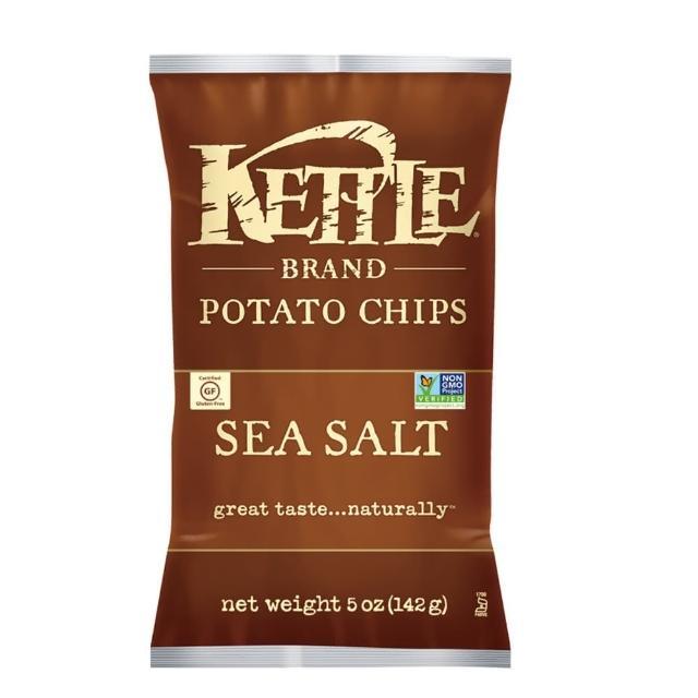 【Kettle】K董-薄切洋芋片-海鹽口味 142g