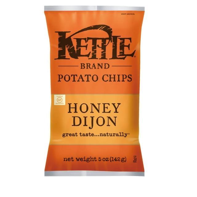 【Kettle】K董-薄切洋芋片-蜂蜜芥末口味 142g
