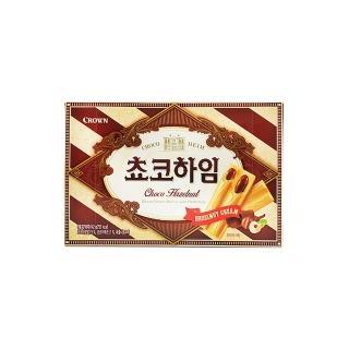 【CROWN】巧克力夾心威化酥(142g)