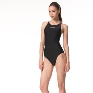 【SAIN SOU】競賽型連身三角泳裝加贈矽膠泳帽(A97305)