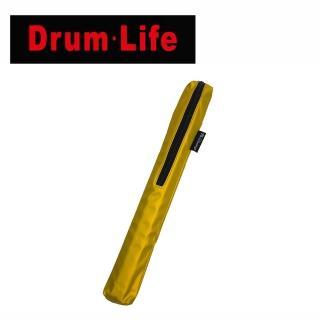 【Drum Life】STB1 兩雙入鼓棒袋 赤金黃色款(知名鼓手陳柏州老師設計款)