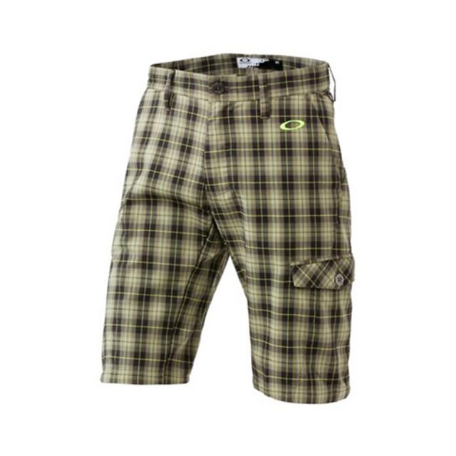 【OAKLEY】RELEVANT SHORT 2.0(格紋高爾夫球短褲)