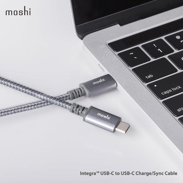 【Moshi】Integra 強韌系列USB-C to USB-C 耐用充電/傳輸編織線