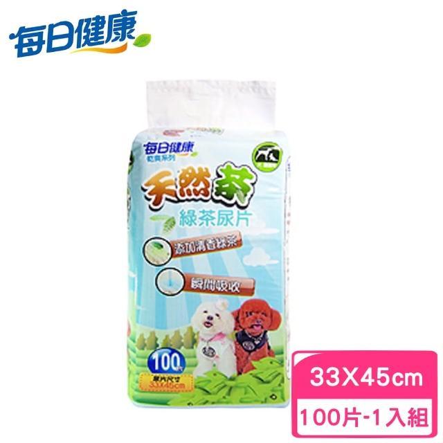 【每日健康】天然茶綠茶尿片100片入