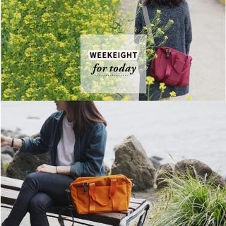 【TD】韓版WEEKEIGHT時尚防潑水旅行袋/單肩包/手提包/斜背包