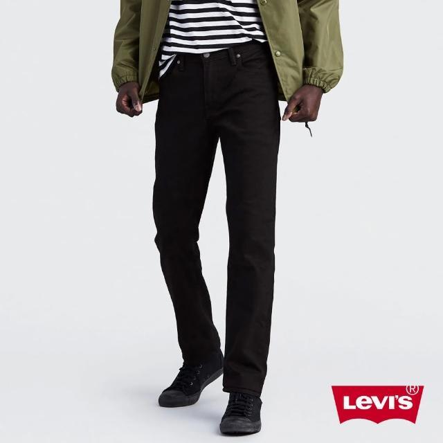 【Levis】511 低腰窄管牛仔褲 / 彈性布料 / 黑