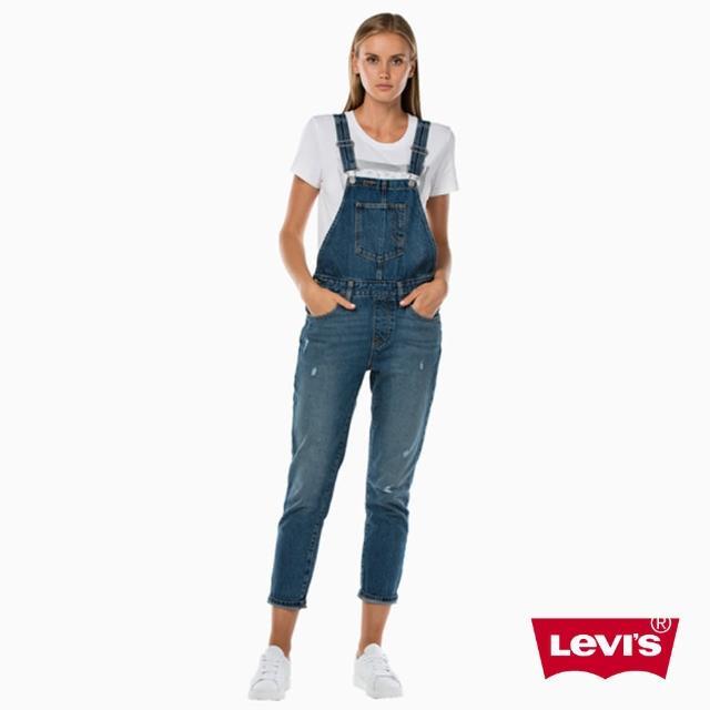 【Levis】Overall 吊帶褲 / 破壞