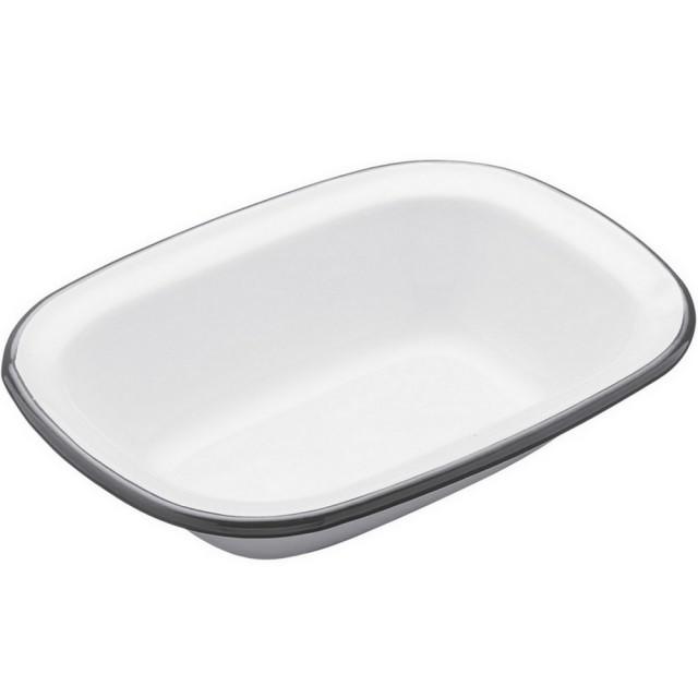 【KitchenCraft】復古琺瑯烤盤(長20cm)