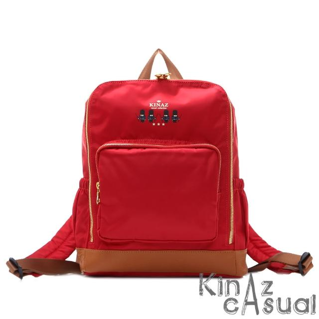 【KINAZ casual】英國-輕量優雅2way後背包-紅