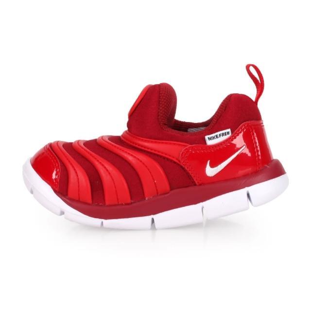 【NIKE】14-16CM_DYNAMO FREE TD_小童毛毛蟲鞋_343938621(紅白)